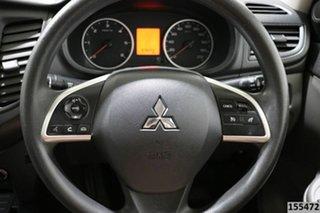 2015 Mitsubishi Triton MQ MY16 GLX (4x4) White 6 Speed Manual Dual Cab Utility