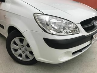 2009 Hyundai Getz TB MY09 S White 4 Speed Automatic Hatchback