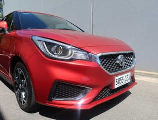 2020 MG MG3 SZP1 MY21 Excite Red 4 Speed Automatic Hatchback