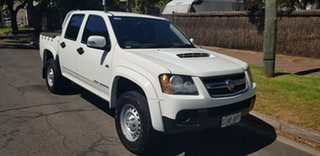 2010 Holden Colorado RC MY11 LX (4x4) White 4 Speed Automatic Crew Cab Pickup.