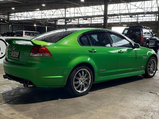 2008 Holden Commodore VE MY09 SS Green 6 Speed Manual Sedan