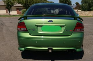 2004 Ford Falcon BA MkII XR8 Green 4 Speed Auto Seq Sportshift Sedan.