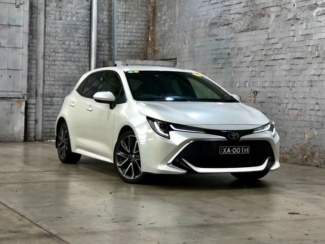 Used Toyota Corolla Mzea12R ZR Mile End South, 2018 Toyota Corolla Mzea12R ZR White 10 Speed Constant Variable Hatchback