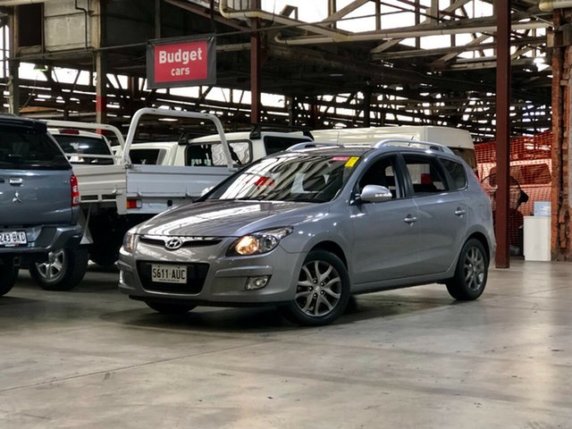 Used Hyundai i30 FD MY11 SX cw Wagon Mile End South, 2012 Hyundai i30 FD MY11 SX cw Wagon Grey 4 Speed Automatic Wagon