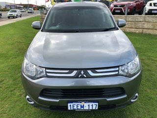 2013 Mitsubishi Outlander ZJ MY13 LS 4WD Green 6 Speed Constant Variable Wagon