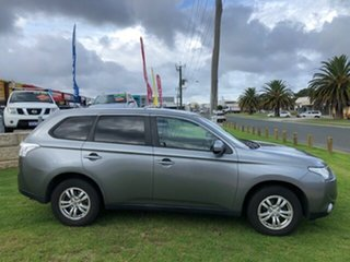 2013 Mitsubishi Outlander ZJ MY13 LS 4WD Green 6 Speed Constant Variable Wagon.