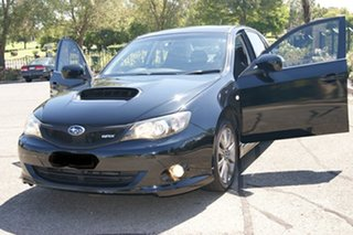 2010 Subaru Impreza MY10 WRX (AWD) Black 5 Speed Manual Sedan