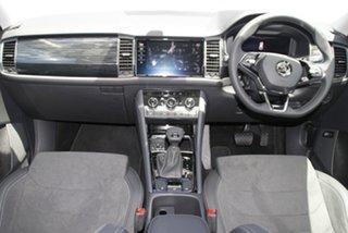 2021 Skoda Kodiaq NS MY21 132TSI DSG Brilliant Silver 7 Speed Sports Automatic Dual Clutch Wagon.