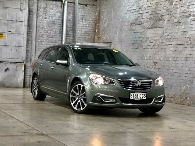 Used Holden Calais VF II MY16 V Sportwagon Mile End South, 2016 Holden Calais VF II MY16 V Sportwagon Prussian Steel 6 Speed Sports Automatic Wagon
