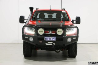 2017 Holden Colorado RG MY17 LTZ (4x4) Red 6 Speed Automatic Crew Cab Pickup.