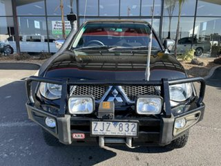 2011 Mitsubishi Triton MN MY11 GLX-R (4x4) Black 5 Speed Automatic 4x4 Double Cab Utility.