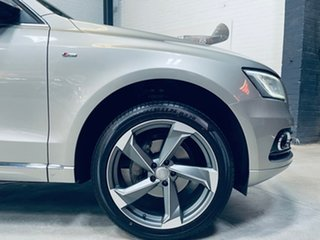 2014 Audi Q5 8R MY15 TDI S Tronic Quattro Silver 7 Speed Sports Automatic Dual Clutch Wagon.