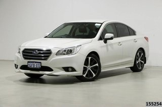 2017 Subaru Liberty MY16 2.5I White Continuous Variable Sedan.