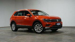 2017 Volkswagen Tiguan 5N MY17 162TSI DSG 4MOTION Highline Orange 7 Speed.
