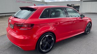 2013 Audi A3 8V Ambition Sportback S Tronic Quattro Red 6 Speed Sports Automatic Dual Clutch