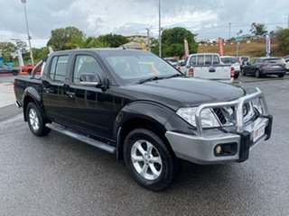 2013 Nissan Navara D40 S6 MY12 ST Black 6 Speed Manual Utility.