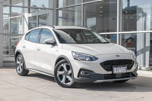 Used Ford Focus SA 2019.25MY Active Ferntree Gully, 2019 Ford Focus SA 2019.25MY Active White 8 Speed Automatic Hatchback