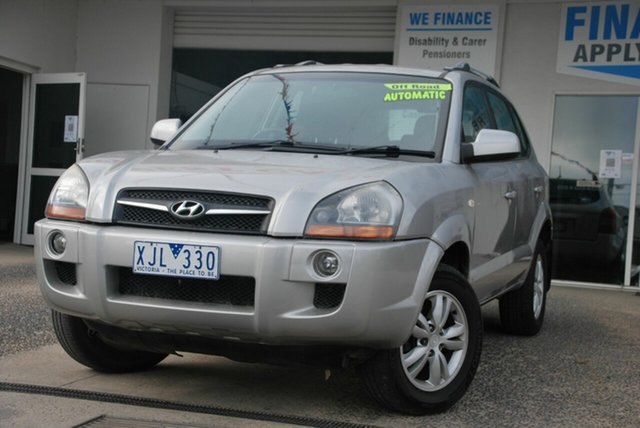 Used Hyundai Tucson 08 Upgrade City SX Wendouree, 2009 Hyundai Tucson 08 Upgrade City SX Silver 4 Speed Automatic Wagon