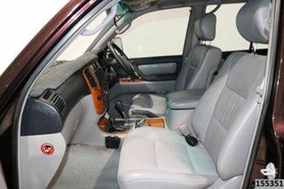2004 Toyota Landcruiser HDJ100R Sahara (4x4) Maroon 5 Speed Automatic Wagon