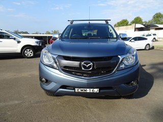 2016 Mazda BT-50 UR0YF1 XTR Deep Crystal Blue 6 Speed Automatic Utility
