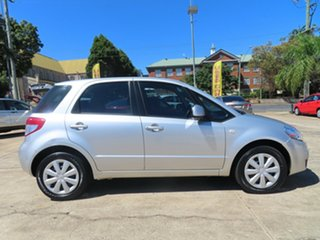 2010 Suzuki SX4 GY MY10 Liana S Silver Continuous Variable Hatchback.