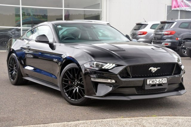 Used Ford Mustang FN 2018MY GT Fastback SelectShift West Gosford, 2018 Ford Mustang FN 2018MY GT Fastback SelectShift Black 10 Speed Sports Automatic Fastback