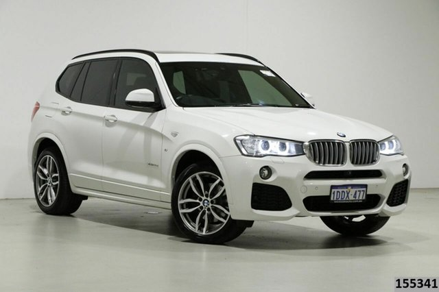 Used BMW X3 G01 xDrive30d M Sport Bentley, 2017 BMW X3 G01 xDrive30d M Sport White 8 Speed Automatic Wagon