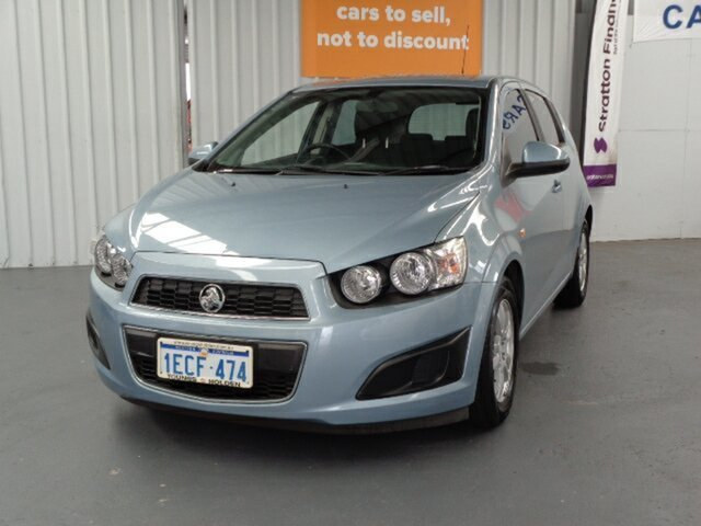 Used Holden Barina TM MY13 CD Rockingham, 2012 Holden Barina TM MY13 CD Blue 5 Speed Manual Hatchback