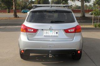 2016 Mitsubishi ASX XB MY15.5 XLS (2WD) Silver Continuous Variable Wagon