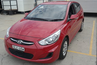 2016 Hyundai Accent RB4 MY16 SR Red 6 Speed Sports Automatic Hatchback.