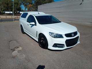 2014 Holden Ute VF MY14 SS V Ute Redline White 6 Speed Sports Automatic Utility.