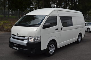 2016 Toyota HiAce KDH221R High Roof Super LWB White 4 Speed Automatic Van