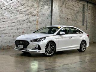 2018 Hyundai Sonata LF4 MY18 Active White 8 Speed Sports Automatic Sedan.