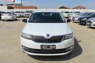 2016 Skoda Rapid NH MY16 Spaceback DSG White 7 Speed Sports Automatic Dual Clutch Hatchback