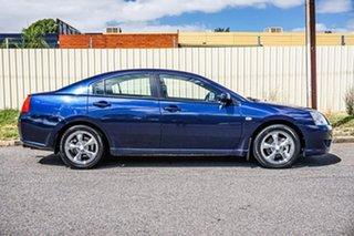 2007 Mitsubishi 380 DB Series III ES Blue 5 Speed Sports Automatic Sedan.