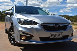 2017 Subaru Impreza G5 MY17 2.0i Premium CVT AWD Silver 7 Speed Constant Variable Hatchback.