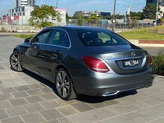 2016 Mercedes-Benz C-Class W205 807MY C200 7G-Tronic + Grey 7 Speed Sports Automatic Sedan.