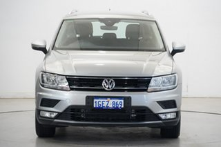 2016 Volkswagen Tiguan 5N MY17 110TSI DSG 2WD Comfortline Tungsten Silver 6 Speed.