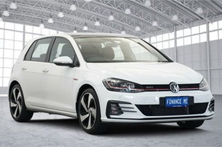 2017 Volkswagen Golf 7.5 MY17 GTi White 6 Speed Manual Hatchback.