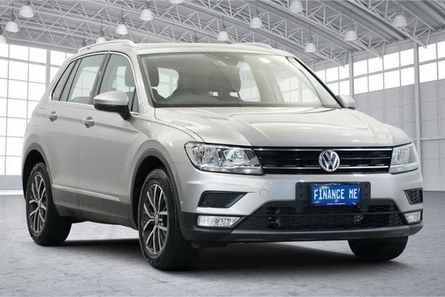Used Volkswagen Tiguan 5N MY17 110TSI DSG 2WD Comfortline Victoria Park, 2016 Volkswagen Tiguan 5N MY17 110TSI DSG 2WD Comfortline Tungsten Silver 6 Speed