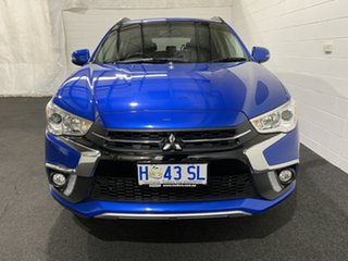 2018 Mitsubishi ASX XC MY18 LS 2WD ADAS Blue 1 Speed Constant Variable Wagon.