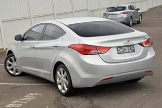 2011 Hyundai Elantra MD Premium Silver 6 Speed Sports Automatic Sedan.