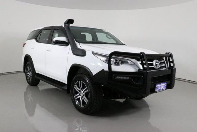Used Toyota Fortuner GUN156R MY18 GX Bentley, 2018 Toyota Fortuner GUN156R MY18 GX White 6 Speed Automatic Wagon