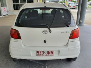 2004 Toyota Echo NCP10R MY03 White 5 Speed Manual Hatchback