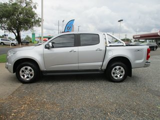 2015 Holden Colorado RG MY15 LTZ Crew Cab Silver 6 Speed Manual Utility.