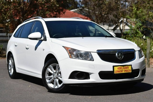 Used Holden Cruze JH Series II MY14 CD Sportwagon Melrose Park, 2014 Holden Cruze JH Series II MY14 CD Sportwagon White 6 Speed Sports Automatic Wagon