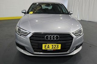 2016 Audi A3 8V MY16 Attraction Sportback S Tronic Silver 7 Speed Sports Automatic Dual Clutch