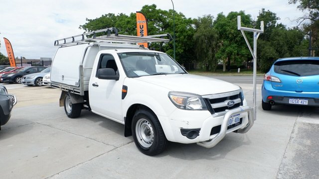 Used Ford Ranger PK XL St James, 2009 Ford Ranger PK XL White 5 Speed Manual Cab Chassis