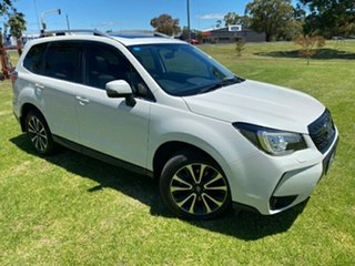 2016 Subaru Forester S4 MY16 XT CVT AWD Premium White 8 Speed Constant Variable Wagon.