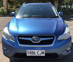 2013 Subaru XV G4X MY14 2.0i AWD Blue 6 Speed Manual Wagon.